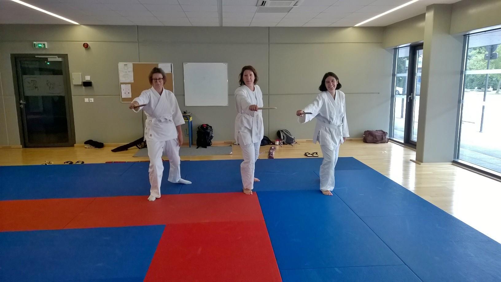 Drolesdedames aikido blamont 090917
